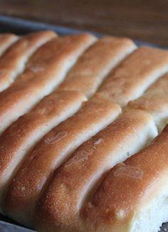 Homemade Bread Sticks in the Bread Machine -- best recipe ever!