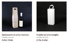 Opakowania kartonowe na butelki producent