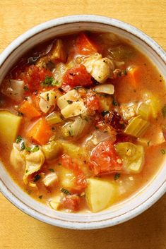 "NYT Cooking: You either like Manhattan clam chowder or you don't. James Beard famously called it ""horrendous."" But the chowder has its fans — the acidity of the tomatoes helps temper the salinity of the broth, and offers a pleasing sweetness besides. Green peppers and carrots add to the effect, and the garlic and red-pepper flakes speak to New York's immigrant past. It is certainly%2..."