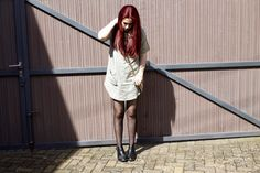 Anna Peony: OUTFIT >> The T-Shirt Dress