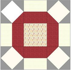 TUTORIAL: Single Wedding Ring / Star Block (from lieblingsdecke Quilts)