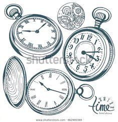 420 Ideas De Relojes En 2021 Tatuajes De Relojes Disenos De Unas Reloj Tattoo