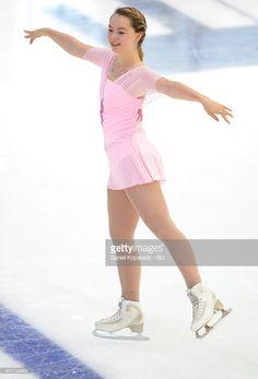 Alexandra de Hannover participa en el Grand Prix Junior de Linz
