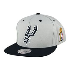 Mitchell /& Ness Black Gold San Antonio Spurs snapback Hat For Jordan 1 Gold Toe