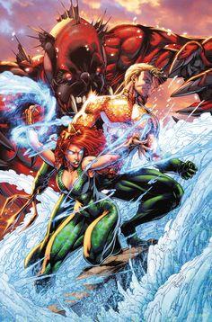 Cartoons And Heroes — extraordinarycomics: Aquaman & Mera by Brett...