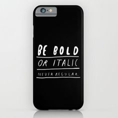 NEVER iPhone 6 case by WASTED RITA