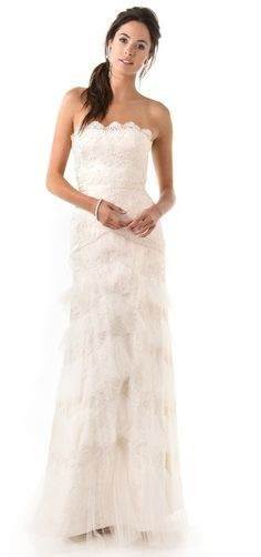 Temperley London Long Dove Bridal Dress on shopstyle.com