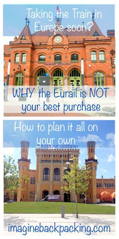 How to book the train in Europe! Strategies on everything from reading the timetable to saving money! @imaginebackpack imaginebackpacking.com