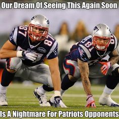 Can't Imagine Opponents Of The Pats Want To See This As Much As We Fans Do