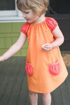 perfect little peasant dress