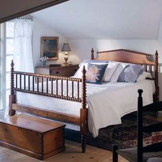 I would love to have an english spool bed frame!