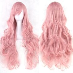 20 Colors Women Heat Resistant Pink Black Blue Red Yellow White Blonde Purple…