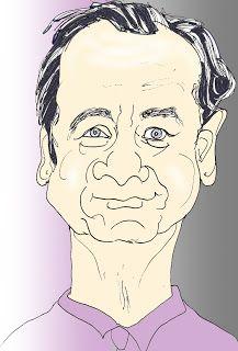 CARICATURAS DELBOY: BILL MURRAY