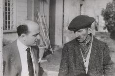 1961 - Il pittore Antonio Ligabue insieme a mio padre./ The painter Antonio Ligabue with my father. Marc Chagall, Anton, Father, Couple Photos, Photography, Parents, Pai, Couple Shots, Photograph
