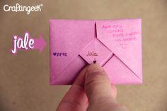 Doblando Cartas: cuadrito, jale, flecha y bolsita