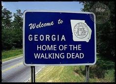 Georgia home of The Walking Dead
