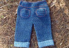 pantalon vaquero ganchillo bebé