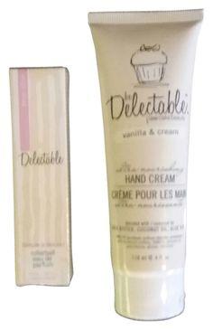 Be delectable lemon Parfum rollon 0.33oz and vanilla cream  hand lotion 4 Oz women.$23 free shipping ($30reg) #fragrance #lotion #gifts @tradesy @Kohl's