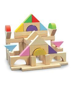Building Block Set by Wonderworld on #zulily