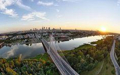 The view from the balloon - Warsaw / fot. Maciej Bogacki