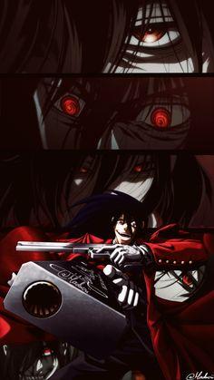 Witchy Wallpaper, Dog Wallpaper, Hellsing Ultimate Anime, Abraham Van Helsing, Manga Anime, Anime Art, Hellsing Alucard, Best Waifu, Animes Wallpapers