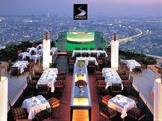 Sirocco Restaurant and Bar - Bangkok