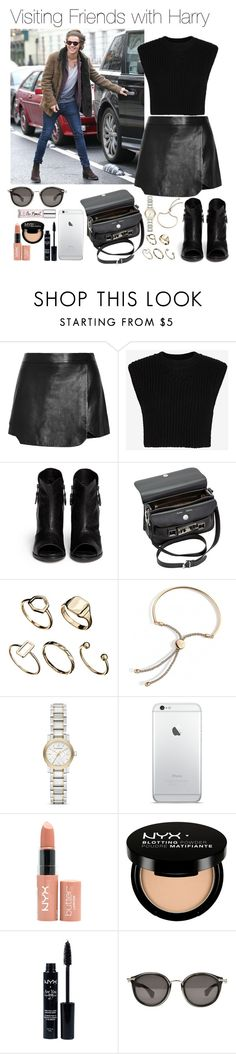 """""""Visiting Friends with Harry .x"""" by diamonds-and-dior ❤ liked on Polyvore featuring Jonathan Simkhai, Neil Barrett, rag & bone, Proenza Schouler, ASOS, Burberry, NYX, Moncler, women's clothing and women"""