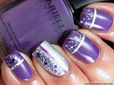 16 Purple Nail Art Ideas That Are Just SO Elegant!
