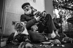 #gurusays #oldman #friends #dog #vsco #life #street