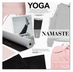 """""""What to Wear Yoga"""" by a-a-nica on Polyvore featuring Onzie, W118 by Walter Baker, Old Navy, Corkcicle, Vans, lululemon, Gaiam, yoga, active and namaste"""