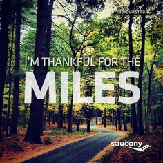 thankful for the miles
