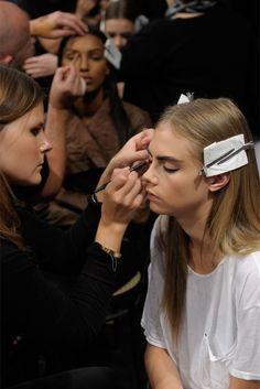 Make up Cara Delevinge