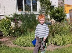 Gardener at work!