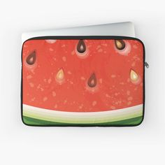 Watermelon Tattoo, Watermelon Water, Watermelon Ice Cream, Watermelon Dress, Watermelon Salad, Watermelon Tourmaline, Watermelon Festival, Water Me, Laptop Case