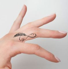 So Cute Temporary Tattoo Design