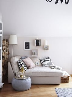 A snug corner made for relaxing