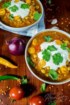 Moroccan Chickpea Lentil Soup for the Hearts Kitchen Low Carb Indian Food, Indian Diet Recipes, Diet Salad Recipes, Tasty Vegetarian Recipes, Vegan Soups, Lentil Recipes, Heart Healthy Recipes, Vegan Recipes Easy, Soup Recipes