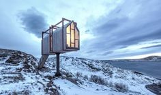 Marvelous House In Mysterious Island – Fubiz Media