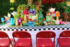 Alice in Wonderland Birthday Party Ideas | Photo 9 of 12 | Catch My Party
