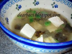 Dear Baci: Miso Soup - only 4 ingredients