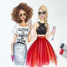 Fashion sketch,Glitter inspired fashion art,Fashion illustration,Chic wall art…