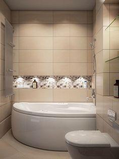Home Renovation, Home Remodeling, Laundry Room Bathroom, Toilet Design, Bathroom Design Small, Corner Bathtub, Home Interior Design, Decoration, Home Furniture