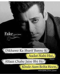 Pin by maryam azam on boys quotes attitude quotes, quotes, boy quotes. Bad Words Quotes, Boy Quotes, Funny Quotes, Life Quotes, Flirting Quotes, Dating Quotes, Hindi Quotes, Salman Khan Quotes, Best Couple Quotes