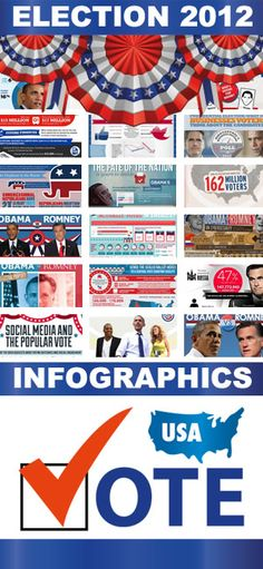 Still an undecided voter? Election day is almost there, here's a 2012 Voters' Infographic Guide 2012 Election, Election Day, Social Studies, Social Media, Hot Blue, History Classroom, Patriotic Decorations, God Bless America, Countries Of The World