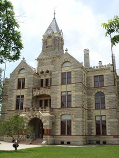 LaGrange, Texas courthouse