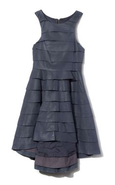 Camilla and Marc tiered leather dress