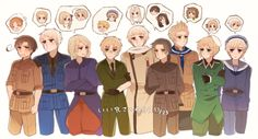 Discovered by Giesha Girl. Find images and videos about anime, anime boy and hetalia on We Heart It - the app to get lost in what you love. Hetalia Funny, Hetalia Fanart, Hetalia Characters, Fictional Characters, Latin Hetalia, Hetalia Axis Powers, Usuk, Anime Art, Manga Anime