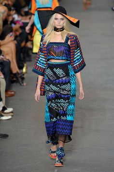 Missoni spring fashion just oozes style