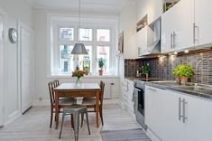 Scandinavian style in the kitchen..