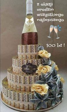 Roquefort mini cakes, smoked walnuts and bacon - Clean Eating Snacks Happy Birthday Greetings Friends, Happy Birthday Celebration, Birthday Cards For Friends, Happy Birthday Messages, Happy Birthday Quotes, Happy Birthday Images, Birthday Wishes, Liquor Bouquet, Creative Money Gifts
